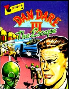 Caratula de Dan Dare III: The Escape para Amstrad CPC