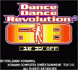 Pantallazo de Dance Dance Revolution GB (Japonés) para Game Boy Color
