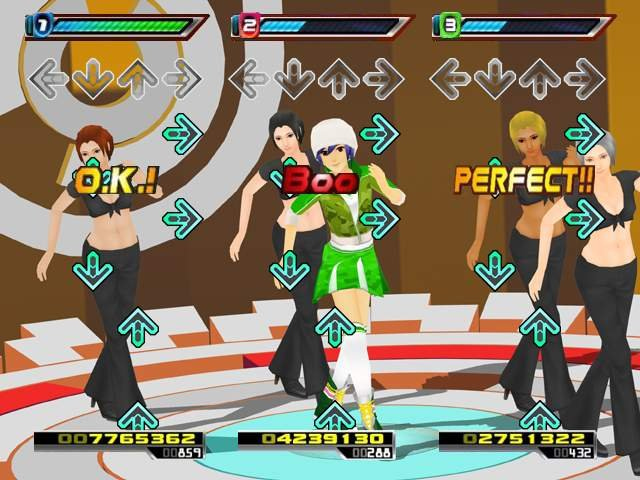 Pantallazo de Dance Dance Revolution Hottest Party para Wii