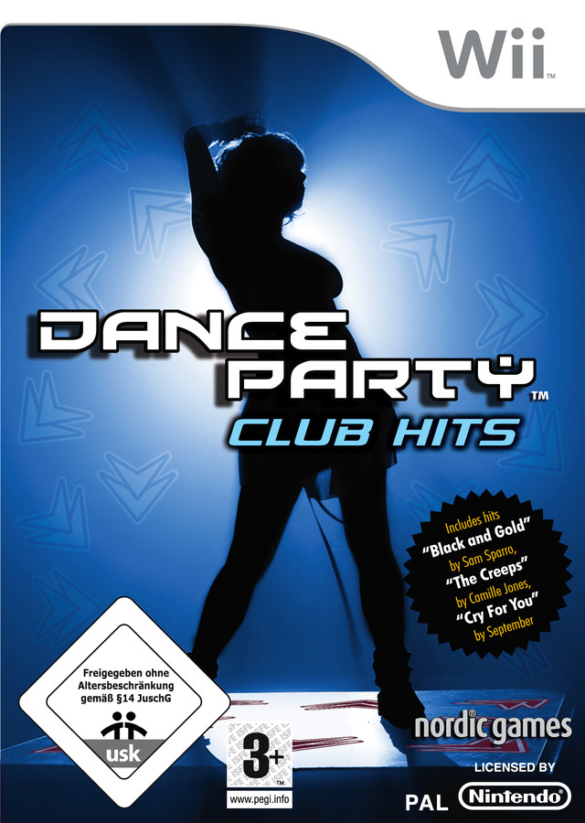 Caratula de Dance Party Club Hits para Wii