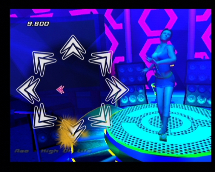 Pantallazo de Dance Party Pop Hits para PlayStation 2