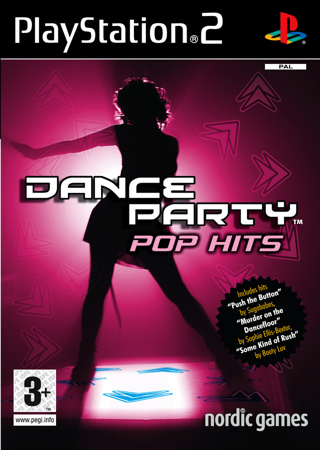 Caratula de Dance Party Pop Hits para PlayStation 2