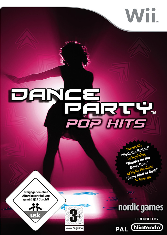 Caratula de Dance Party Pop Hits para Wii