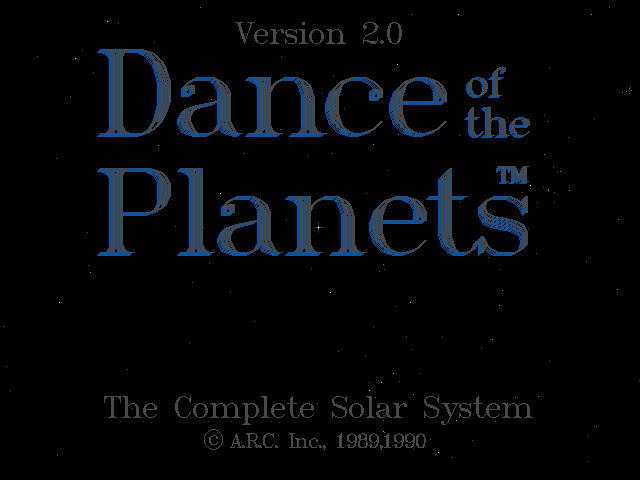 Pantallazo de Dance of the Planet 2.0 para PC
