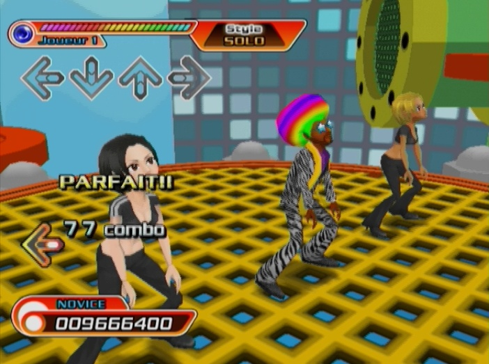 Pantallazo de Dancing Stage Hottest Party para Wii