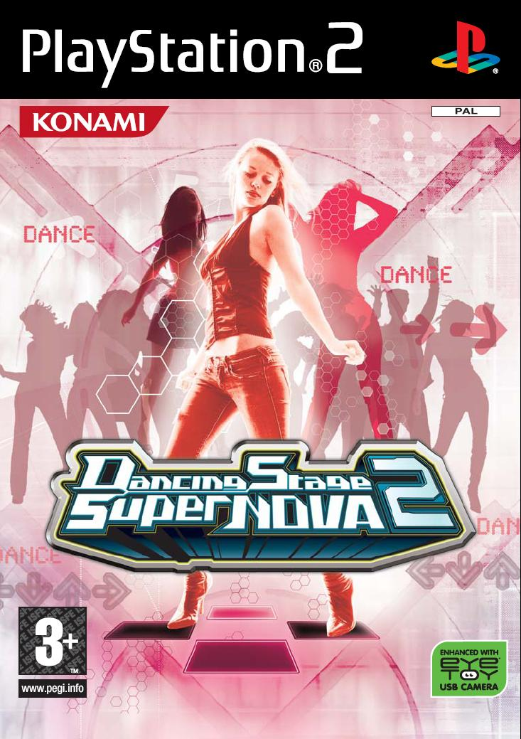 Caratula de Dancing Stage SuperNova 2 para PlayStation 2