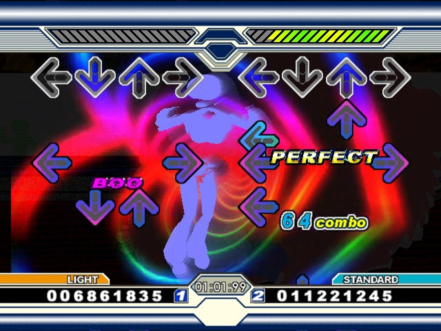 Pantallazo de Dancing Stage Unleashed para Xbox