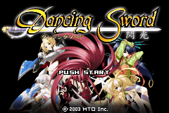 Pantallazo de Dancing Sword – Senkou (Japonés) para Game Boy Advance