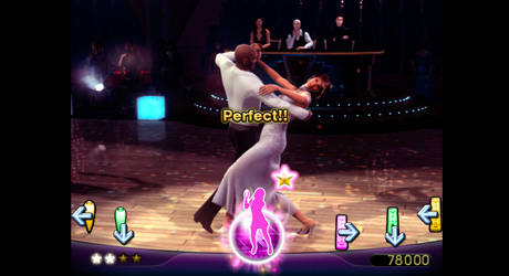 Pantallazo de Dancing with the Stars para Wii