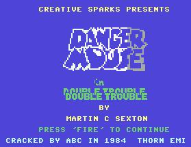 Pantallazo de Danger Mouse in Double Trouble para Commodore 64
