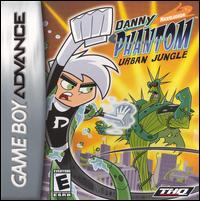 Caratula de Danny Phantom: Urban Jungle para Game Boy Advance