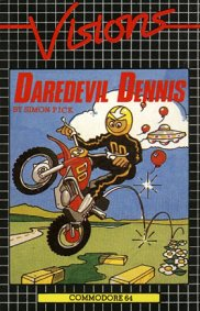 Caratula de Darel Devil Denis: The Sequel para Commodore 64