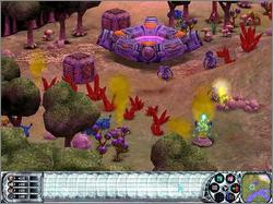 Pantallazo de Dark Planet: Battle for Natrolis para PC