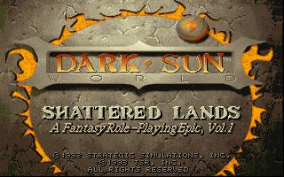 Pantallazo de Dark Sun: Shattered Lands para PC
