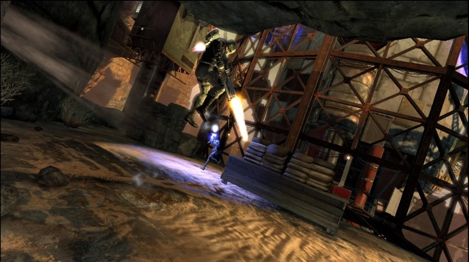 Pantallazo de Dark Void para PlayStation 3