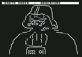Pantallazo de Darth Vader Adventure para Commodore 64