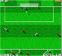 Pantallazo de David O'Leary'sTotal Soccer 2000 para Game Boy Color