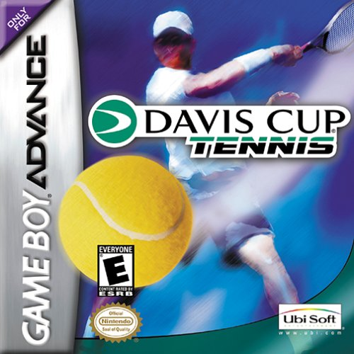 Caratula de Davis Cup Tennis para Game Boy Advance