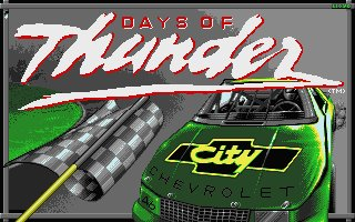 Pantallazo de Days of Thunder para Atari ST