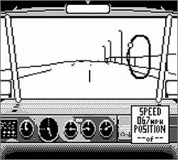 Pantallazo de Days of Thunder para Game Boy