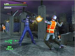 Pantallazo de Dead To Rights para Xbox