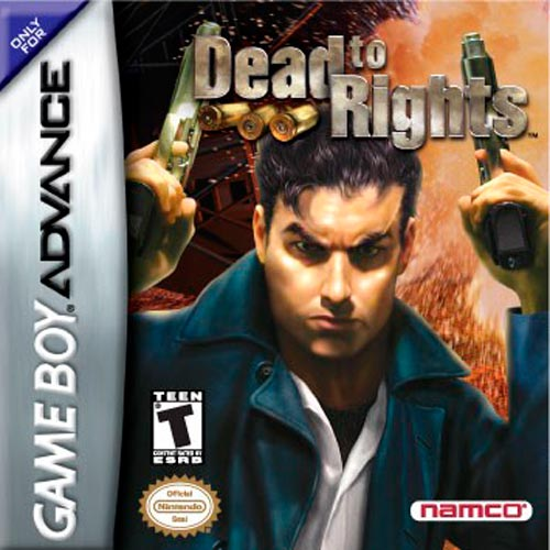 Caratula de Dead to Rights para Game Boy Advance