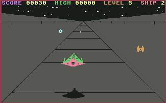 Pantallazo de Death Star para Commodore 64
