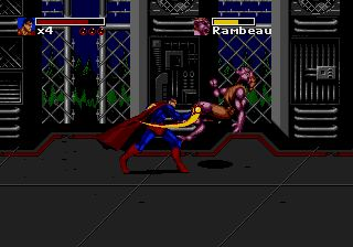 Pantallazo de Death and Return of Superman, The para Sega Megadrive