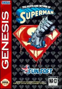 Caratula de Death and Return of Superman, The para Sega Megadrive