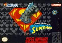Caratula de Death and Return of Superman, The para Super Nintendo