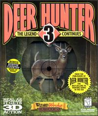 Caratula de Deer Hunter 3: The Legend Continues para PC