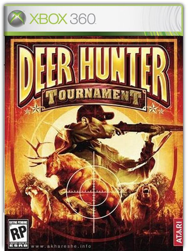 Caratula de Deer Hunter Tournament para Xbox 360