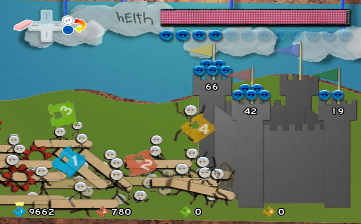 Pantallazo de Defend Your Castle (Wii Ware) para Wii
