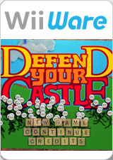 Caratula de Defend Your Castle (Wii Ware) para Wii