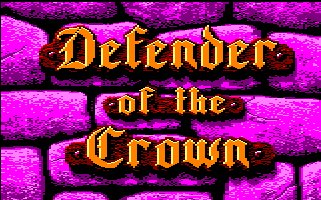 Pantallazo de Defender Of The Crown para Amstrad CPC