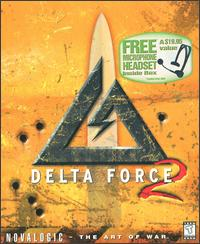 Caratula de Delta Force 2 para PC