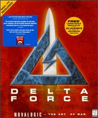 Caratula de Delta Force para PC