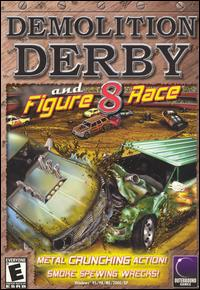 Caratula de Demolition Derby and Figure 8 Race para PC