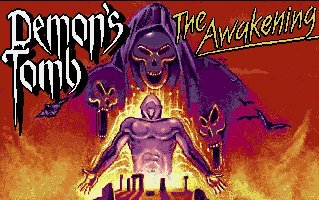 Pantallazo de Demon's Tomb: The Awakening para Amiga