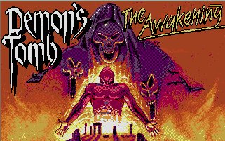 Pantallazo de Demon's Tomb: The Awakening para Atari ST