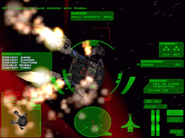 Pantallazo de Descent: FreeSpace -- Battle Pack para PC