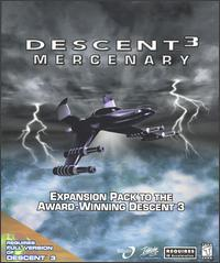 Caratula de Descent 3: Mercenary para PC