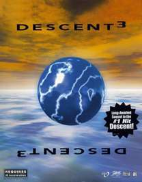 Caratula de Descent 3 para PC