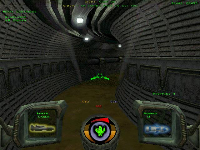 Pantallazo de Descent 3 para PC