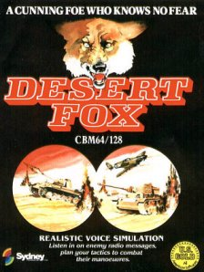 Caratula de Desert Fox para Commodore 64