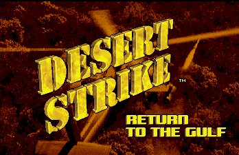 Pantallazo de Desert Strike: Return To The Gulf para Amiga