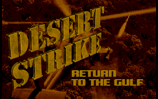 Pantallazo de Desert Strike: Return To the Gulf para PC