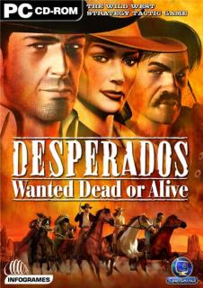 Caratula de Desperados: Wanted Dead or Alive para PC