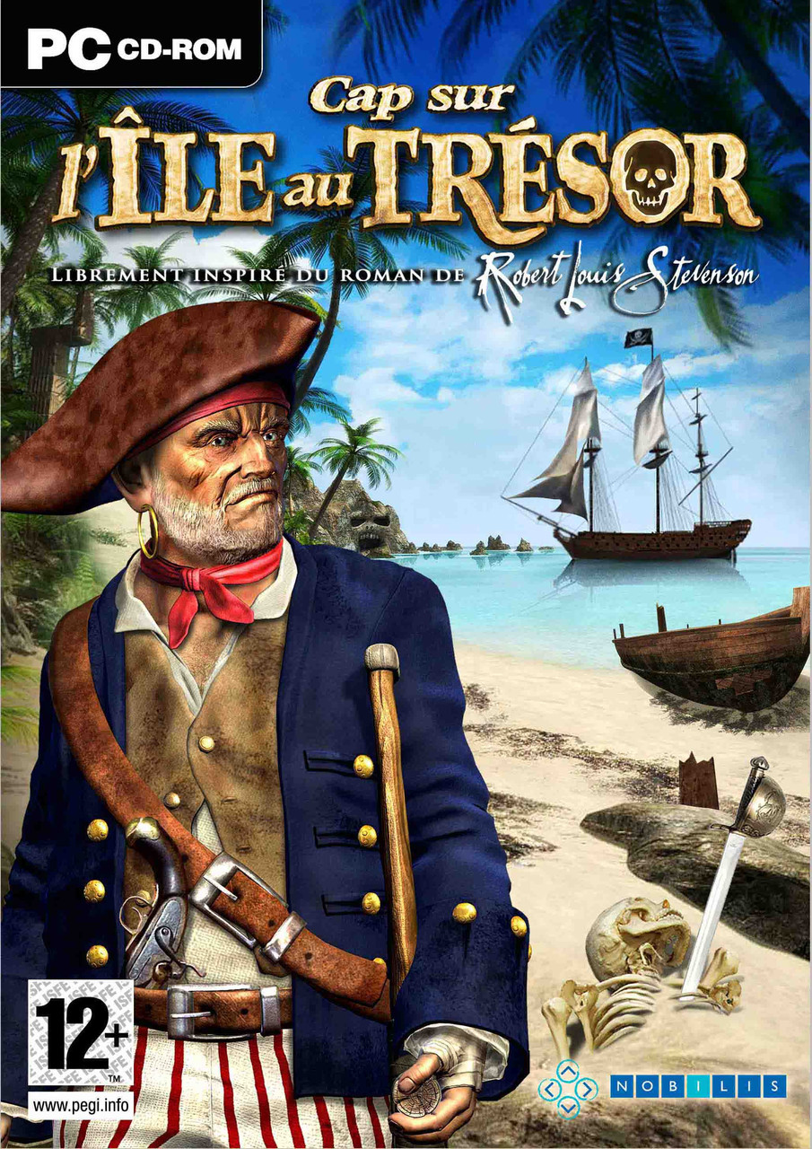 Caratula de Destination: Treasure Island para PC
