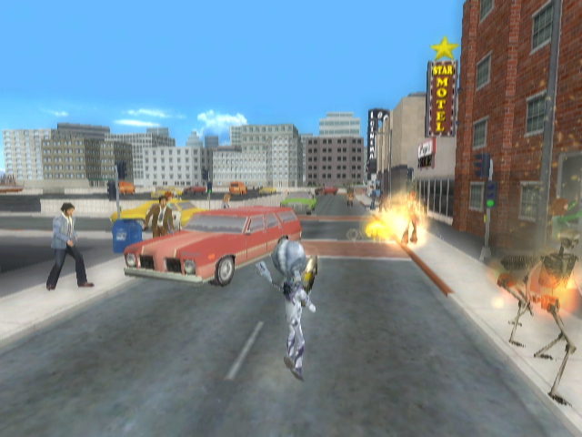 Pantallazo de Destroy All Humans! Big Willy Unleashed para PSP